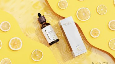 dobré sérum na obličej s vitaminem c Nanoil